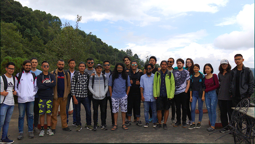 Diploma students field visit