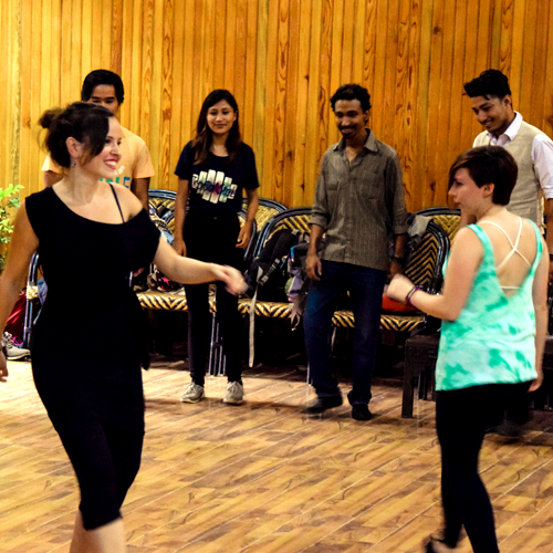 Lindy Hop: Swing dance classes with María López