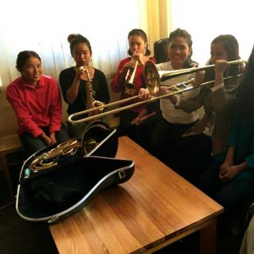 Empowering music education in Nepal