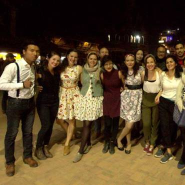 Lindy hop classes and the Durbar square adventure
