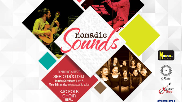 KJC concert series presents: Nomadic sounds.